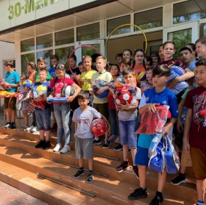 """Carrefour in partnership with Henkel held a joint action """"Helping children"""""""