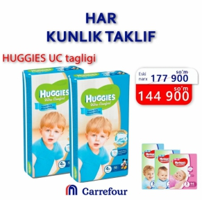Meet the daily deals from the Carrefour Market