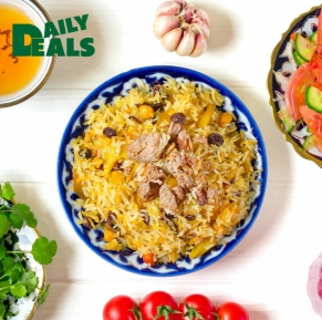 We invite you to pilaf!