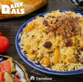 Plov for lunch ?!